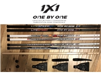 1x1® 2018 Broomball Sticks <BR> Sidekick, Icebreaker, <BR> Wingman & Litespeed