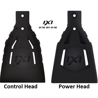 1x1 Broomball Heads <BR> Control, Power & Curved