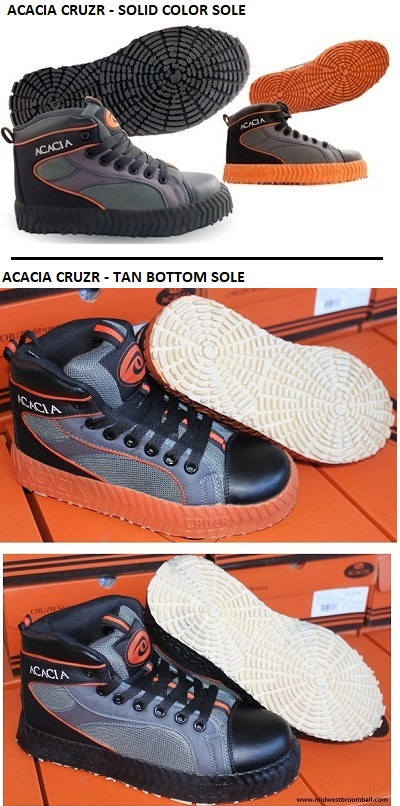 Acacia® CRUZR <BR> Indoor Broomball Shoes