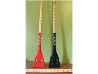 Acacia® Elite Pro Broom <BR> Wood Broomball Stick / Broom