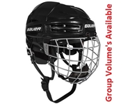 Bauer® IMS 5.0 <BR> Hockey Helmet w/ Cage Combo