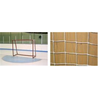 White Net <BR> Fits 6' High x 8' Tall Goals