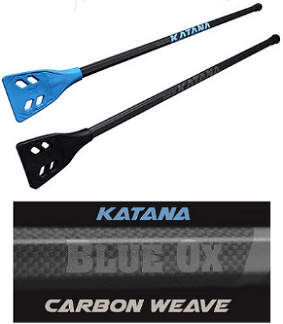 Blue Ox Katana <BR> Carbon Weave Broomball Shaft