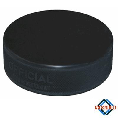 Black 6 oz Official <BR> Ice Hockey Puck