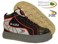D-Gel® Tractor <BR> Outdoor Broomball Shoes