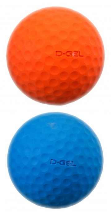 "D-Gel® ""Dimple"" <BR> Broomball Ball"