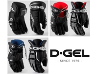 D-Gel®  Broomball Gloves <BR> 802 Value, 840 Passion & 875 Elite