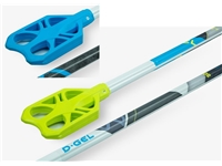 D-Gel® Square D / 90D <BR> Aluminum Broomball Stick / Broom