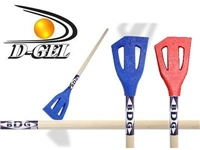 D-Gel® BDG / Heritage <BR> Wood Broomball Stick / Broom