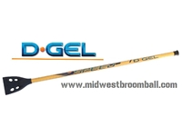 D-Gel® Speed <BR> Aluminum Broomball Stick / Broom