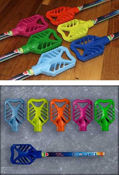 D-Gel® Broomball Stick / Broom <BR> Miniature Souvenir Size