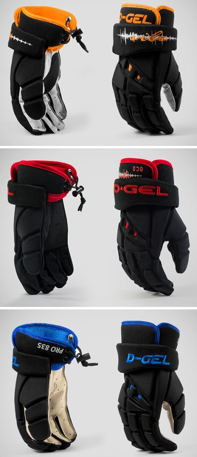 D-Gel® 815 / 830 / 835 <BR> Broomball Gloves