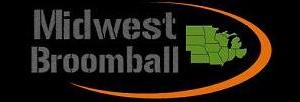Midwest Broomball Black Logo